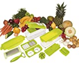 Super Slicer Plus Vegetable Fruit Nicer Peeler Dicer Cutter Chopper Grate