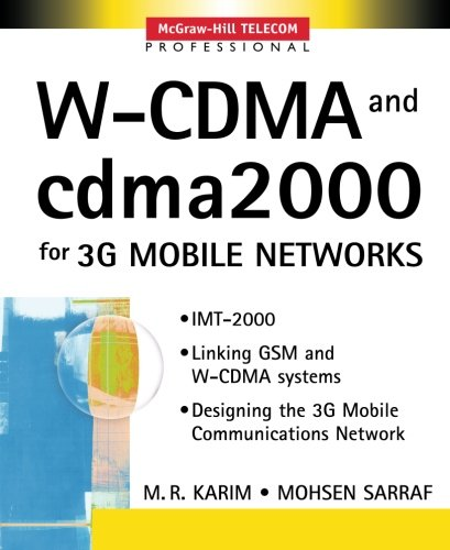 w-cdma-and-cdma2000-for-3g-mobile-networks