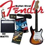 Fender Squier Bullet Strat Sunburst G...