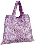51KJjUs ptL. SL160  Anne Klein Womens 98/AKPURPTOTE Earth Friendly  Purple and White Floral Tote