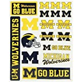 Michigan Wolverines Small Car Stickers
