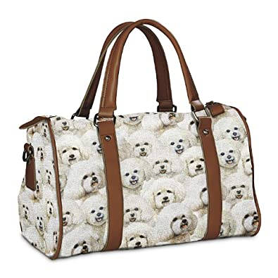 Constant Companion Dog Lovers Handbag: Bichon Frise by The
