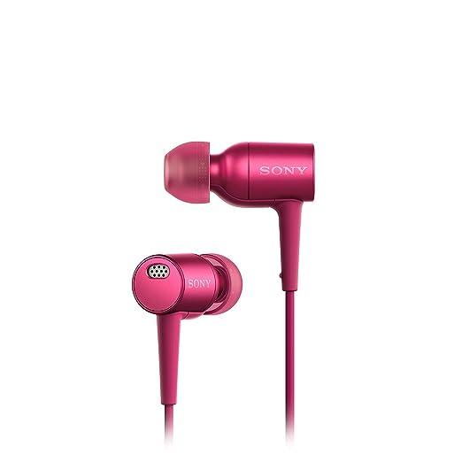 Sony MDR-EX750NAP Ecouteurs Intra-auriculaires Hi-Res Audio à Réduction de Bruit - Rose