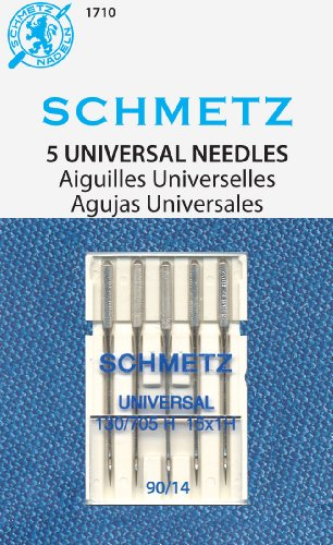Find Cheap SCHMETZ Universal (130/705 H) Household Sewing Machine Needles - Carded - Size 90/14