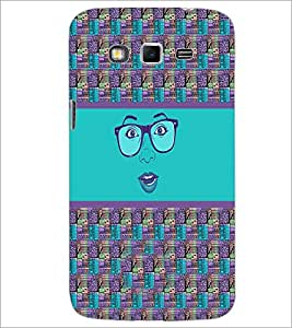 PrintDhaba Specy Face D-4264 Back Case Cover for SAMSUNG GALAXY GRAND 2 (Multi-Coloured)