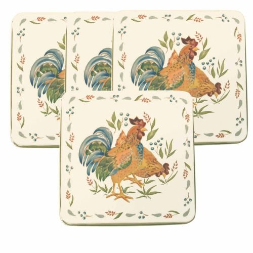Corelle Gas Burner Covers, Country Morning, 4 Covers (9