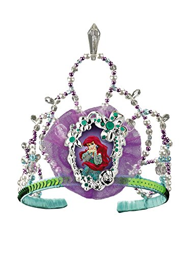 Disguise Disney The Little Mermaid Ariel Tiara Costume Accessory