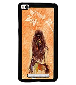PRINTSWAG GIRL Designer Back Cover Case for XIAOMI MI4I