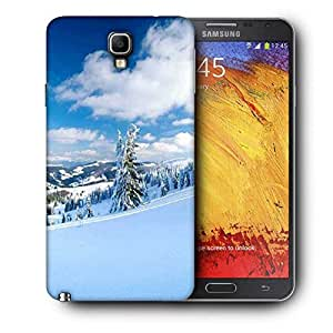 Snoogg Snow Island Printed Protective Phone Back Case Cover For Samsung Galaxy NOTE 3 NEO / Note III