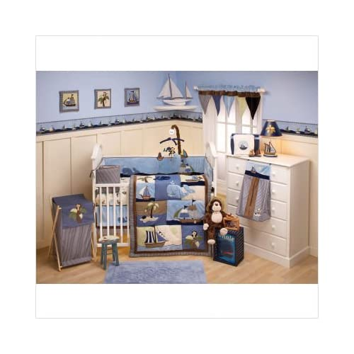 Amazing Six Piece Crib Bedding Set