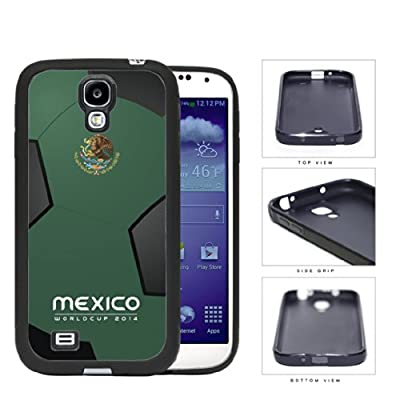 Mexico World Cup 2014 Soccer Ball Rubber Silicone TPU Cell Phone Case Cover Samsung Galaxy S4 I9500