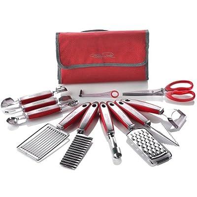 Wolfgang Puck 12 pc Garnish Essentials Set with Storage Case