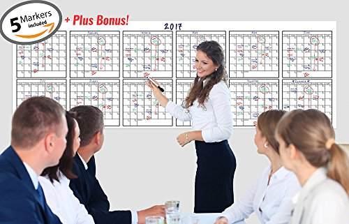dry-erase-yearly-calendar-36-x-96-inches-annual-calendar-academic-calendar-office-calendar-custom-ca