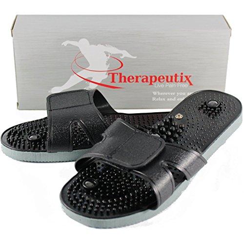 Therapeutix TENS Unit Electronic Massager Electrode Sandals, Medium