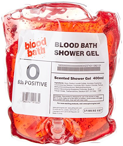 Spinning Hat Blood Bath Shower Gel
