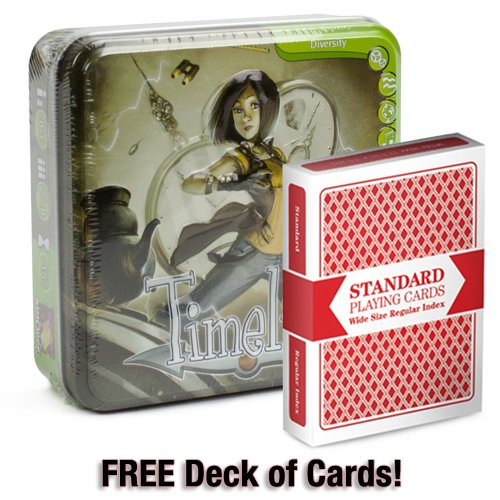 Timeline Diversity With Free Deck Of Standard Playing Cards
