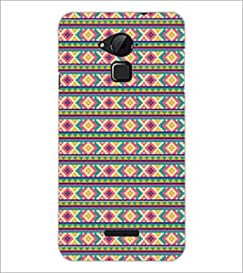 PrintDhaba Pattern D-5206 Back Case Cover for COOLPAD NOTE 3 LITE (Multi-Coloured)