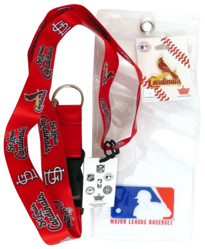 St. Louis Cardinals Lanyard with Ticket Holder and Logo Pin at Amazon.com