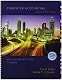 Carol Yacht Computer Accounting Essentials Using Quickbooks 2014 with Software CD