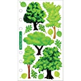 Sticko Vellum Stickers - Trees