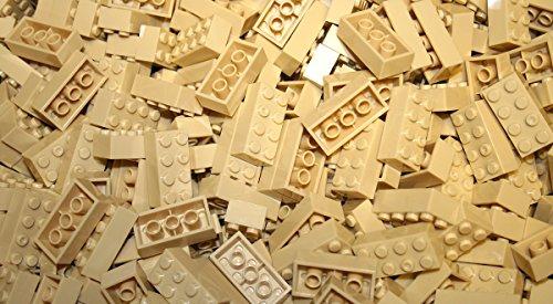200 Pieces Generic Yellow 2x4 bricks Building blocks compatible to major brands