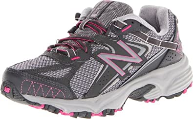 New Balance Women's WT411 Grey/Pink Leather And Synthetic Women>Athletics 9.5 C/D US