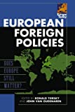 img - for European Foreign Policies: Does Europe Still Matter? (Europe Today) book / textbook / text book