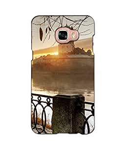 djimpex 3d DIGITAL PRINTED BACK COVER FOR SAMSUNG GALAXY C5