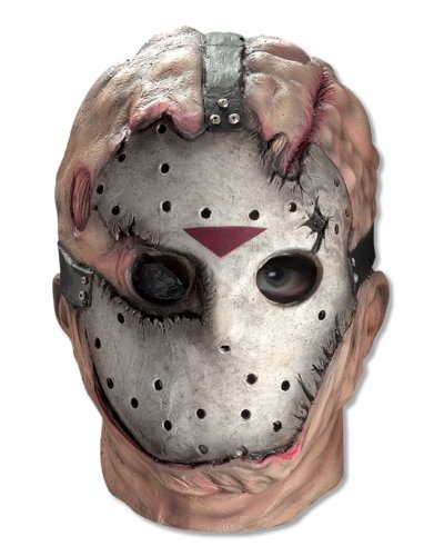 Friday The 13th Jason Voorhees Deluxe Overhead Mask