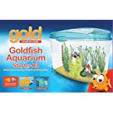 Interpet Gold Plastic Aquarium Kit - Starter Tank Kit 18 Litreby Interpet