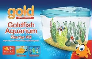 Interpet Gold Plastic Aquarium Kit Starter Tank Kit 18