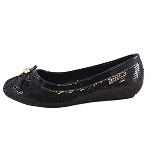 Fab-Kickz-Girls-Curly-1-Sequin-Ballet-Flat-Shoes