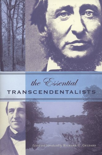 The Essential Transcendentalists, RICHARD G. GELDARD