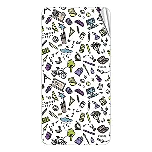 Garmor Designer Mobile Skin Sticker For Gionee X817 - Mobile Sticker