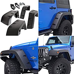 Amazon.com: E-Autogrilles 07-16 Jeep Wrangler JK Wide Pocket Black