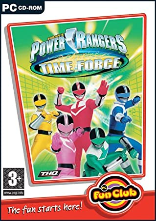 PC Fun Club: Power Rangers Time Force (PC CD)