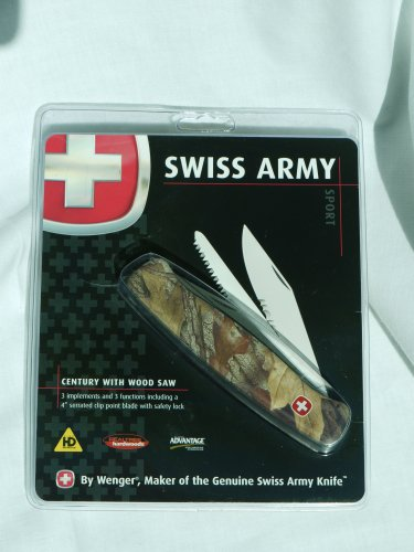 Swiss Army Sport -- Century With Wood Saw