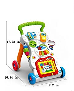 Baby Sit-to-Stand Learning Multifunction Walker by SSING