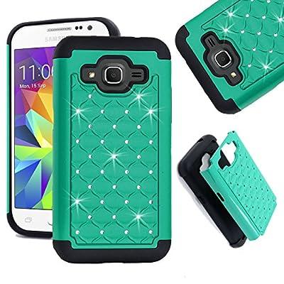 Samsung Galaxy Core Prime Case, Galaxy Prevail LTE Case, Allmet Premium Durable Rugged Impact Case Cover