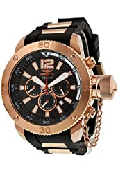 Invicta Signature II Russian Diver Chronograph Black Dial Mens Watch 7428