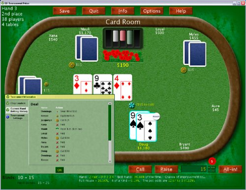 EAGLE GAMES Tournament Poker: No Limit Texas Hold'Em ( Windows/Macintosh )