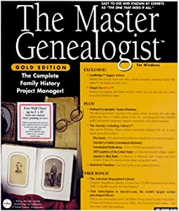 The Master Genealogist Gold Edition