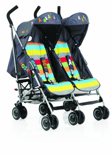 Cosatto Ditto Twin Stroller (Get Set Go)