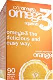 Coromega Omega-3 Supplement, Orange Flavor, Squeeze Packets,