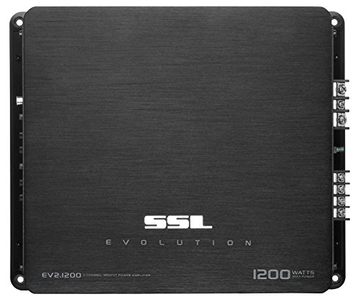 SOUND STORM EV2.1200 EVOLUTION 1200-Watt Full Range, Class A/B 2 to 8 Ohm Stable 2 Channel Amplifier with Remote Subwoofer Level Control (Sports Oasis 1200 compare prices)