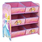 Disney Princess 6 Bin Storage