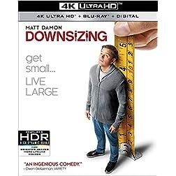 Downsizing [4K Ultra HD + Blu-ray]