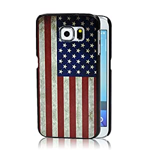Samsung Galaxy S6 Case, Ludan Painted Series Durable Lightweight Hard PC Back Protective Case for 5.1 inches Samsung Galaxy S6 G9200 G920f G920i G920A by Ludan