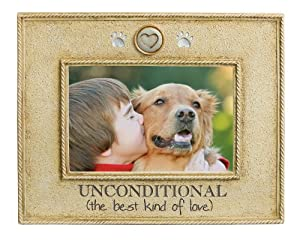 Grasslands Road Unconditional Love Picture Frame, 4 by 6-Inch from amscan - Lawn & Garden