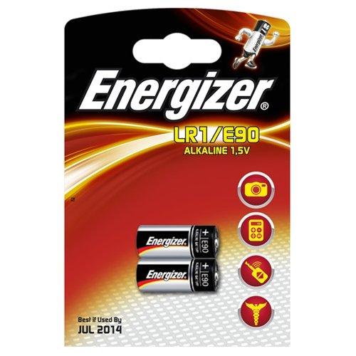 ENERGIZER lR1/e90?c2 cardé 2 piles alcalines incluses